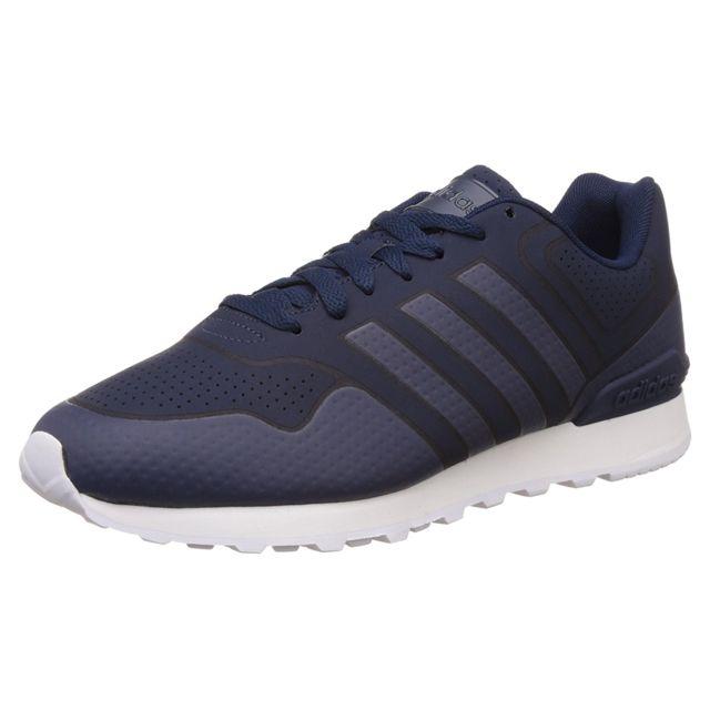 san francisco fa8df 51714 Adidas - 10K Casual Chaussure Homme - Taille 43 13 - Bleu - pas cher Achat   Vente Baskets homme - RueDuCommerce