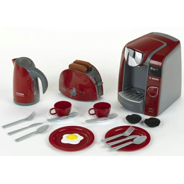 Klein Set petit-déjeuner Bosch avec machine Tassimo