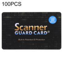 Wewoo - Isolateur de signal pour téléphone mobile Carte de blocage de de garde de scanner du Pcs 100, protection d'identification brevetée intégrée