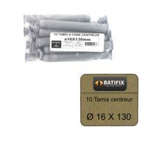 BATIFIX - Pack de 10 Tamis à cone centreur diamètre 16 x 130mm
