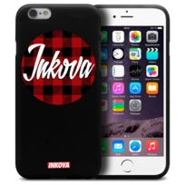 Inkova - Coque Housse Pour iPhone 6 / 6s 4.7 Semi Rigide Gel Tpu Souple Extra Fine Street Design - Circle Tweed