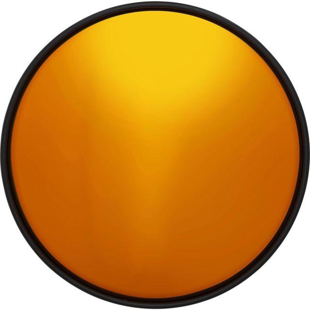 Karedesign Miroir Célébration orange 60cm Kare Design