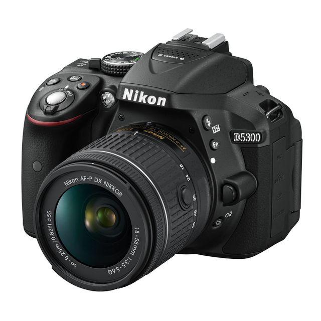 NIKON D5300 + Objectif AF-P 18-55 - Noir