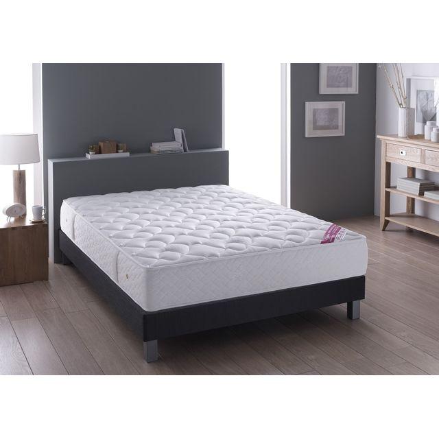 relaxima ensemble matelas ressort ensache simmons lima sommier santiago d coration. Black Bedroom Furniture Sets. Home Design Ideas