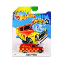 Hot Wheels - Voiture : Colour Shifters : Véhicule 55 Chevy Panel