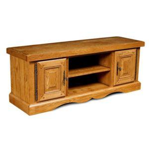 Hellin meuble tv bas en chene la bresse chene moyen - Meuble en chene pas cher ...