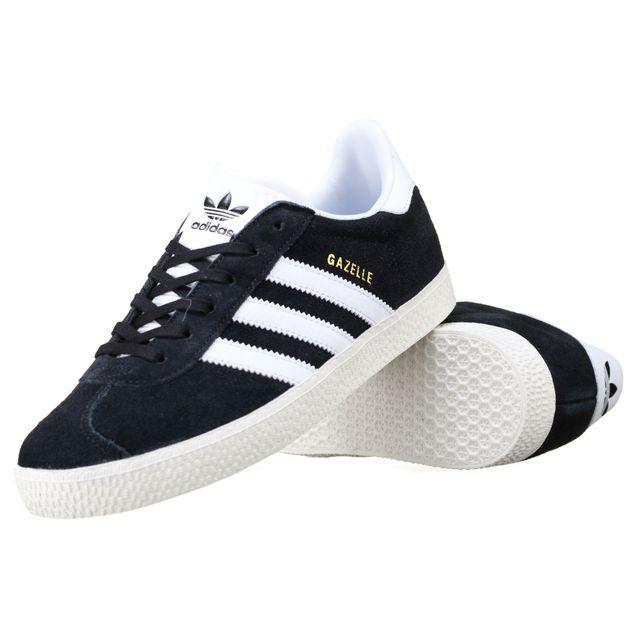 adidas gazelle grise noire