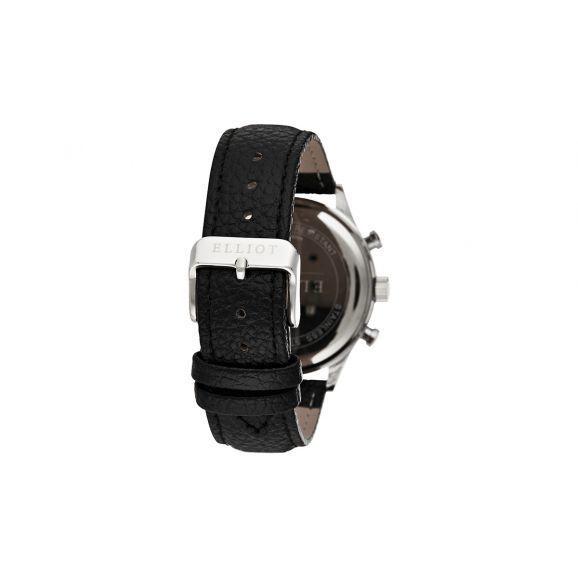 Montre Homme Elliot à Quartz Cadran Blanc 38mm Et Bracelet