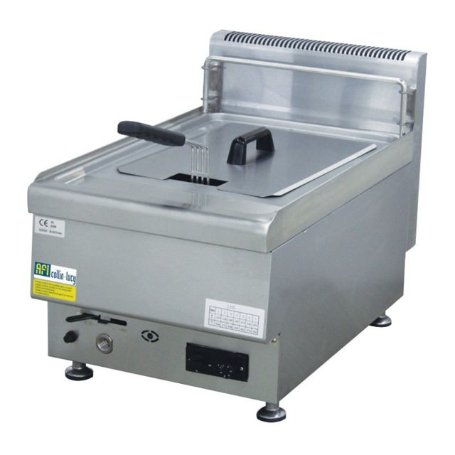 Materiel Chr Pro Friteuse à Gaz Série Top 650 à Poser - 10 L - Afi Collin Lucy - 650