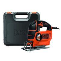 Black & Decker - Ks801SEK Scie sauteuse pendulaire 550 W + coffret et 2 lames