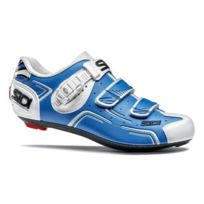 Sidi - Chaussures Level Blanches Et Bleues Chaussures Vélo