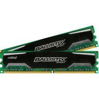Crucial - Ballistix Sport 16G 2x8Go, Pc12800 1600MHz, Cl9 1.5V