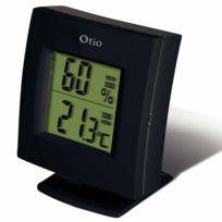 OTIO - thermomètre / hygromètres intérieur noir - 936151 / hh-22