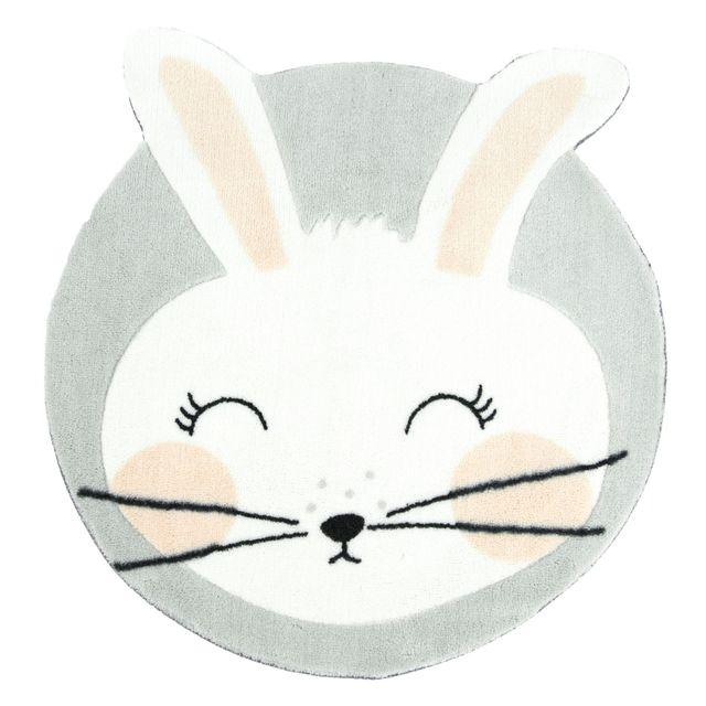 alin a miss rabbit tapis rond d60cm pour enfant motif. Black Bedroom Furniture Sets. Home Design Ideas