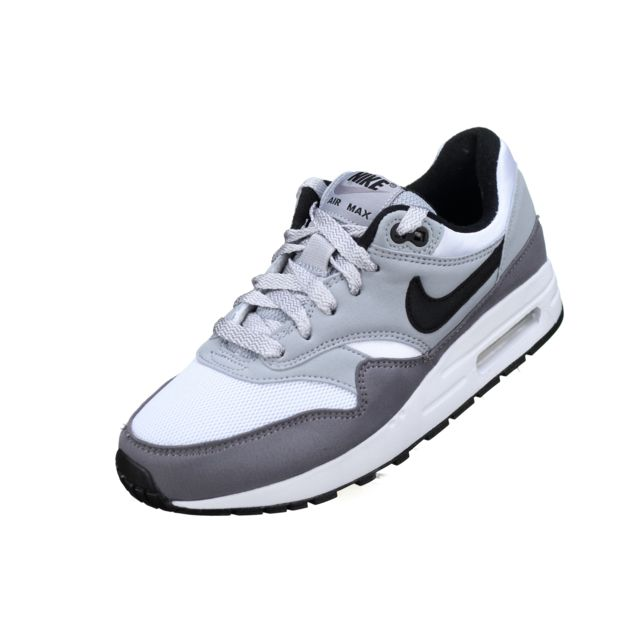 competitive price 34c21 89751 Nike - Air Max 1 Gs G 807606 - 108 Blanc Gris