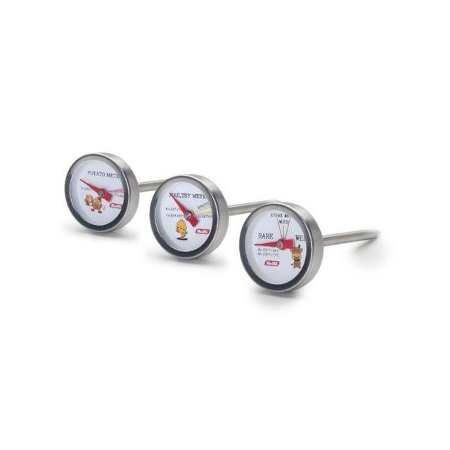 Ibili Set 3 Thermometres Pour Four