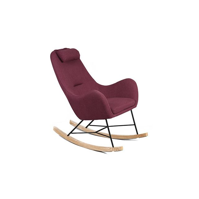Rocking chair violet - Anselme