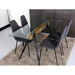 Marque generique table manger timia 6 couverts - Table a manger carrefour ...