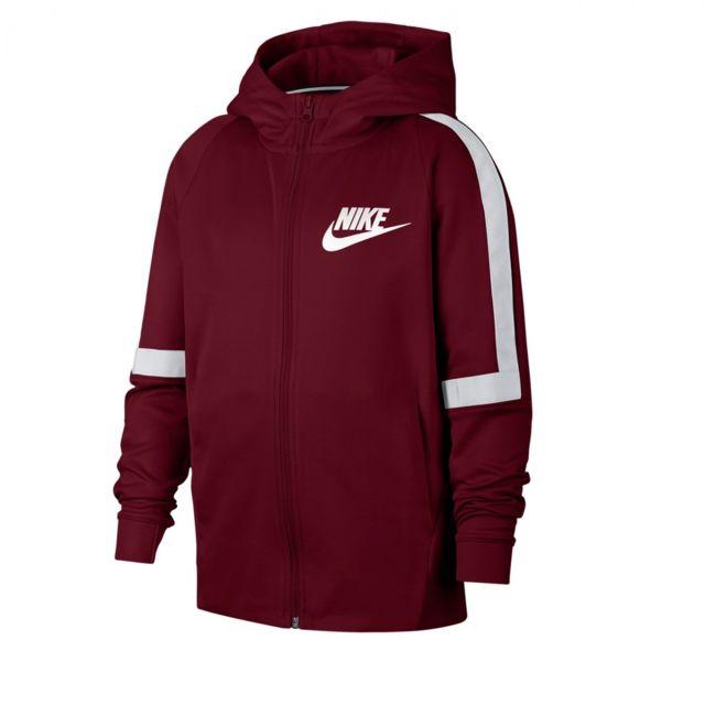 Nike Sweat Sportswear Full Zip Junior Aj3021 677 pas