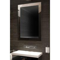 Diamond X Collection - Miroir De Salle De Bain Infinity À Reflet Parfait Avec Lumineux Led K213