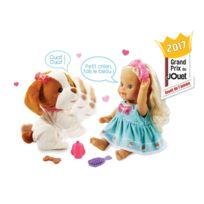 VTECH - Poupée et chien Little Love : Lou joue avec son toutou