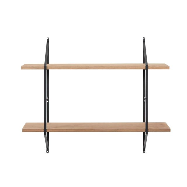 Etagere Murale Design Bois Et Metal Bridge