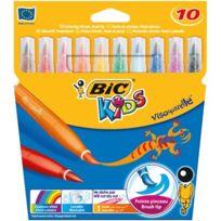 Bic Kids - feutres pinceaux visaquarelle assorti - pochette de 10