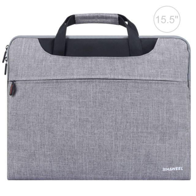 cc7c5f9646 Wewoo - Sacoche ordinateur portable 15,6 pouces Zipper Shoulder, pour  Macbook, Samsung