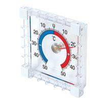 Silverline - Thermomètre intérieur/extérieur à coller