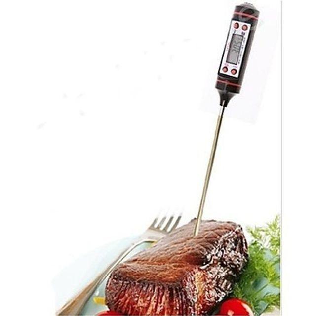 alpexe thermometre cuisson pour viande tartes etc de 50 degres 300 degres pas cher. Black Bedroom Furniture Sets. Home Design Ideas