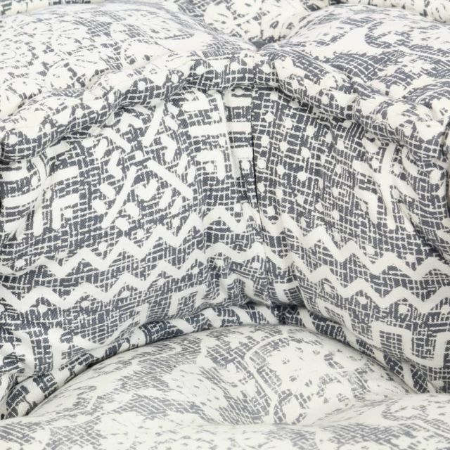 Icaverne - Canapés collection Chaise-canapé modulaire Gris Tissu