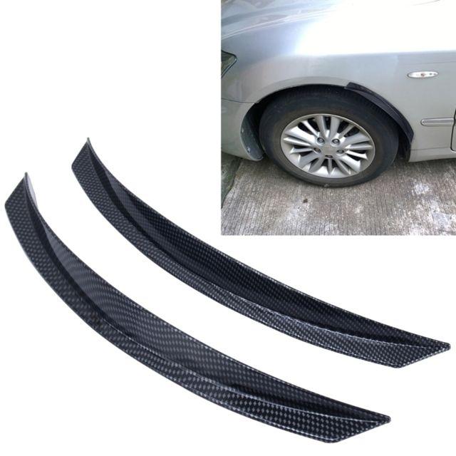 wewoo garde boue 2 pcs yi 238 voiture auto en caoutchouc protection bande scratch autocollant. Black Bedroom Furniture Sets. Home Design Ideas