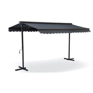 sans marque store double pente avec coffre 3 x 4 m pas. Black Bedroom Furniture Sets. Home Design Ideas