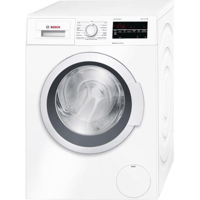 Bosch lave-linge frontal 60cm 8kg a+++ blanc - wat28450ff