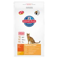 Hill'S - Science Plan - Croquettes au Poulet pour Chat - 10Kg