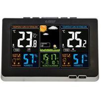 La Crosse - Technology - Station météo avec écran Lcd coloré Alertes de température Ws6828