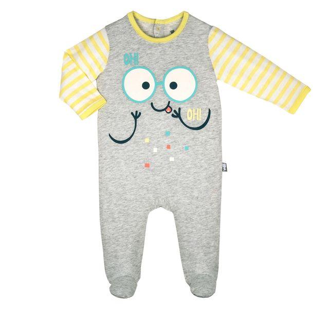 94f37f57ab02a Petit Beguin - Grenouillère bébé garçon Mignon - Taille - 3 mois 62 cm  Multicolore - 36 - pas cher Achat   Vente Pyjamas