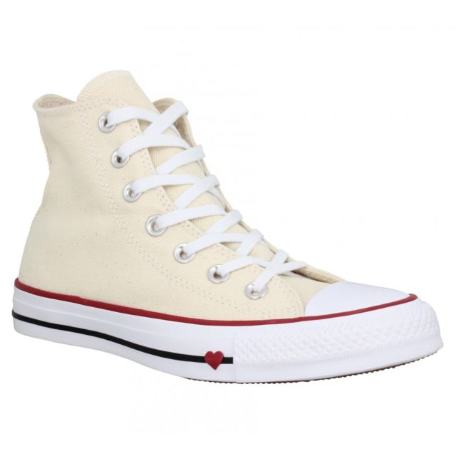 Converse Chuck Taylor All Star Hi toile Femme 39 Natural