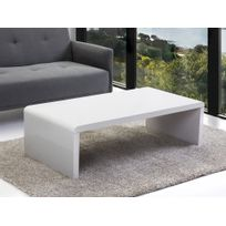 Beliani - Table basse - table d'appoint - meuble Tv - blanc - Milwaukee