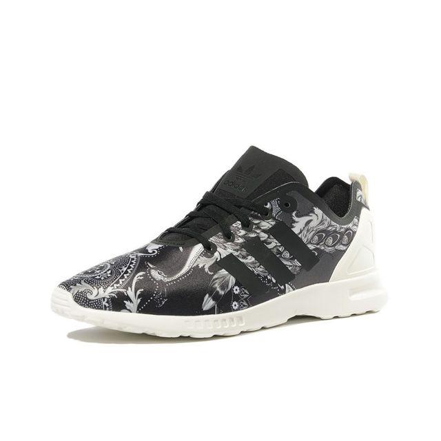 Adidas Chaussures ZX Flux ADV Smooth Noir Femme Noir 39 1