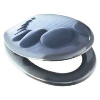 Provence Outillage - Abattant de wc modele chemin de galets