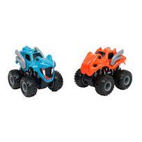 Motor & Co - Coffret 2 monster truck animal