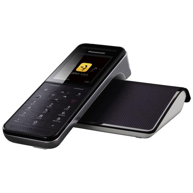 8ac62656b50b65 PANASONIC - Téléphone fixe sans fil avec répondeur KX-PRW120 - pas ...