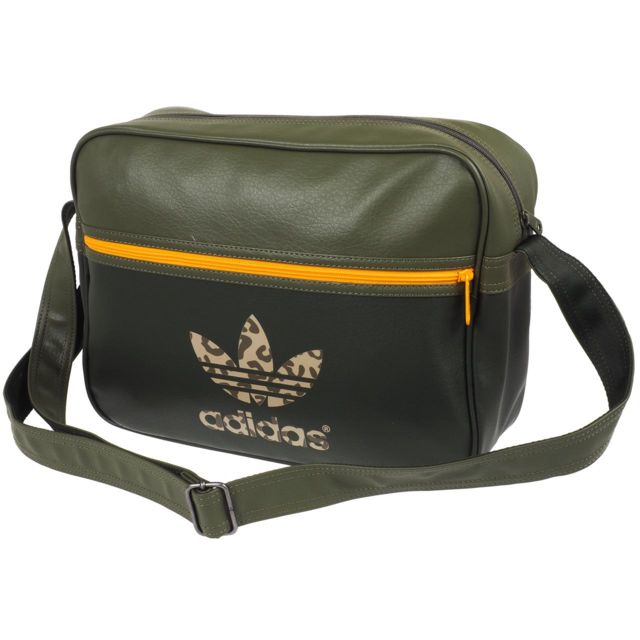 00aceb600a Adidas originals - Sac besace fourre tout adidas Originals Airliner army  Vert 77398