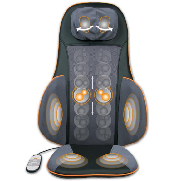 Rocambolesk - Superbe Couvre-siège de massage de digipuncture Medisana Shiatsu Mc 825 Neuf