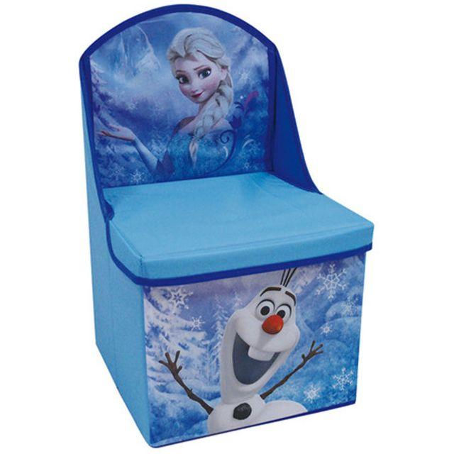 Worlds Apart Coffre de rangement Disney La reine des neiges Bleu//Mauve