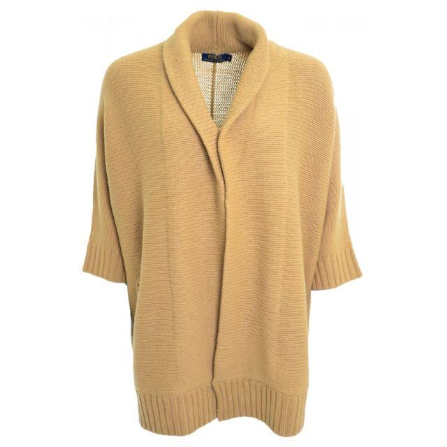 Ralph Lauren - Gilet chauve-souris marron beige Chiara pour femme - pas  cher Achat   Vente Gilet femme - RueDuCommerce 163c986f4bce