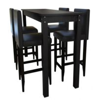 table haute tabourets - Achat table haute tabourets pas cher - Rue ...