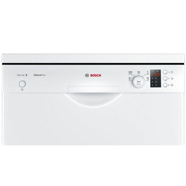 Bosch Lave-vaisselle SilencePlus - SMS25AW02E - Blanc