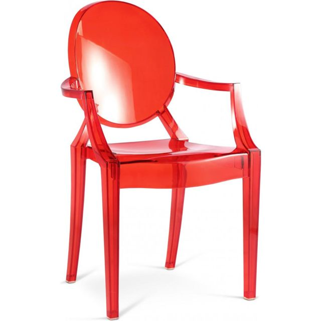 privatefloor fauteuil louis ghost philippe starck style polycarbonate pas cher achat